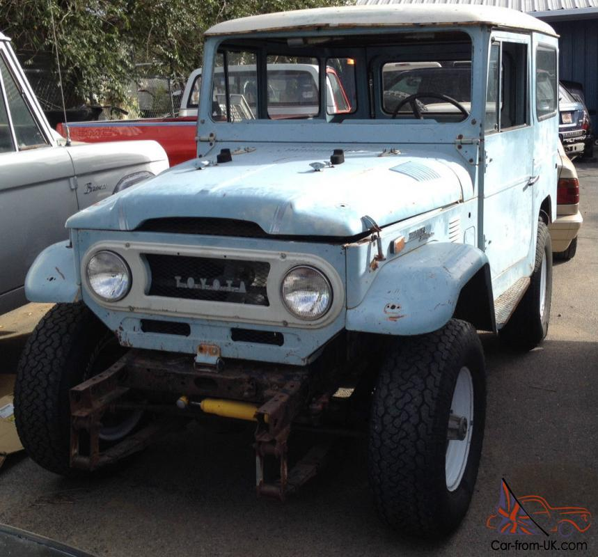 Toyota Fj40 Hardtop For Sale: Toyota : Land Cruiser 2 Door Hard Top
