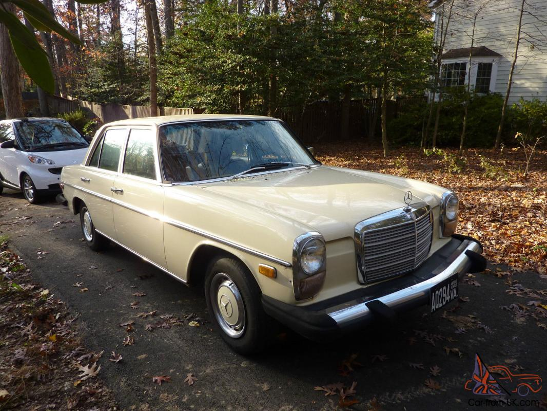 Mercedes benz 200 series early 1976 240 d with 115 body for Mercedes benz body styles