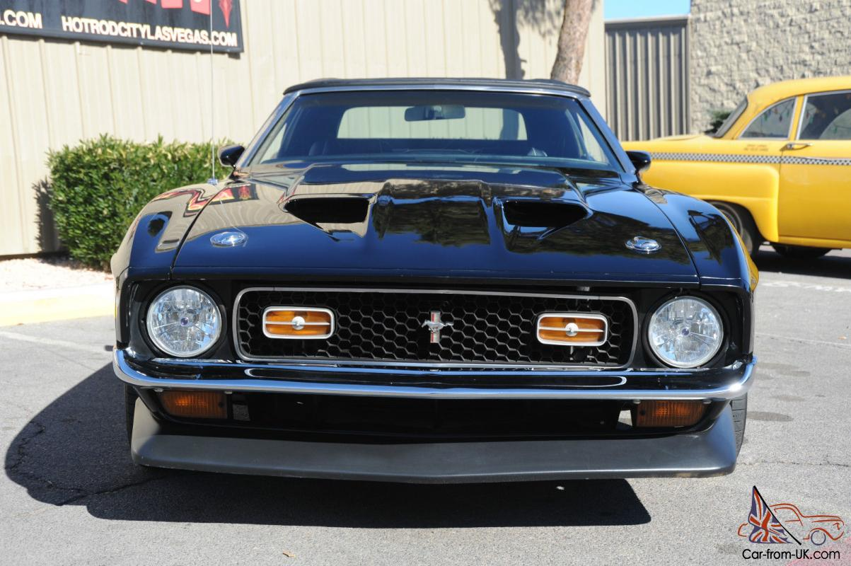 Ford mustang mach 1 resto mod convertible