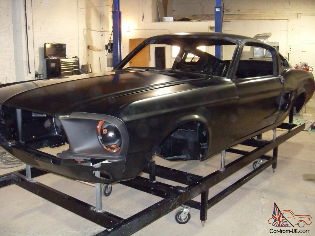 19671968 ford mustang shelby fastback body shells photo