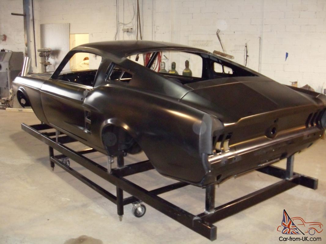 19671968 ford mustang shelby fastback body shells