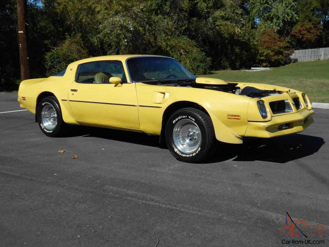 pontiac trans am 1976 trans am 455 ho 4 speed. Black Bedroom Furniture Sets. Home Design Ideas