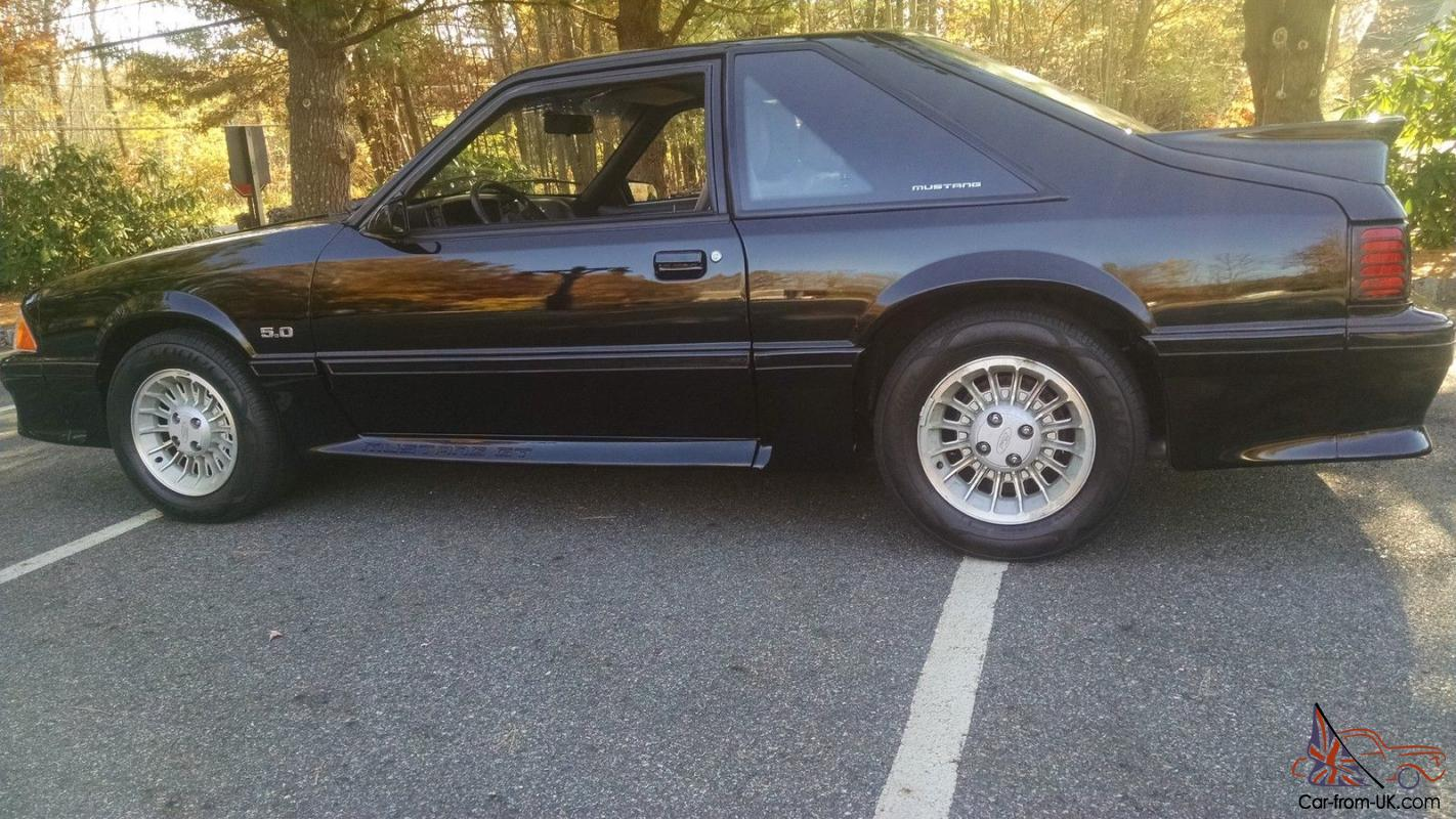 1989 ford mustang gt 5 0 litre 5 spd