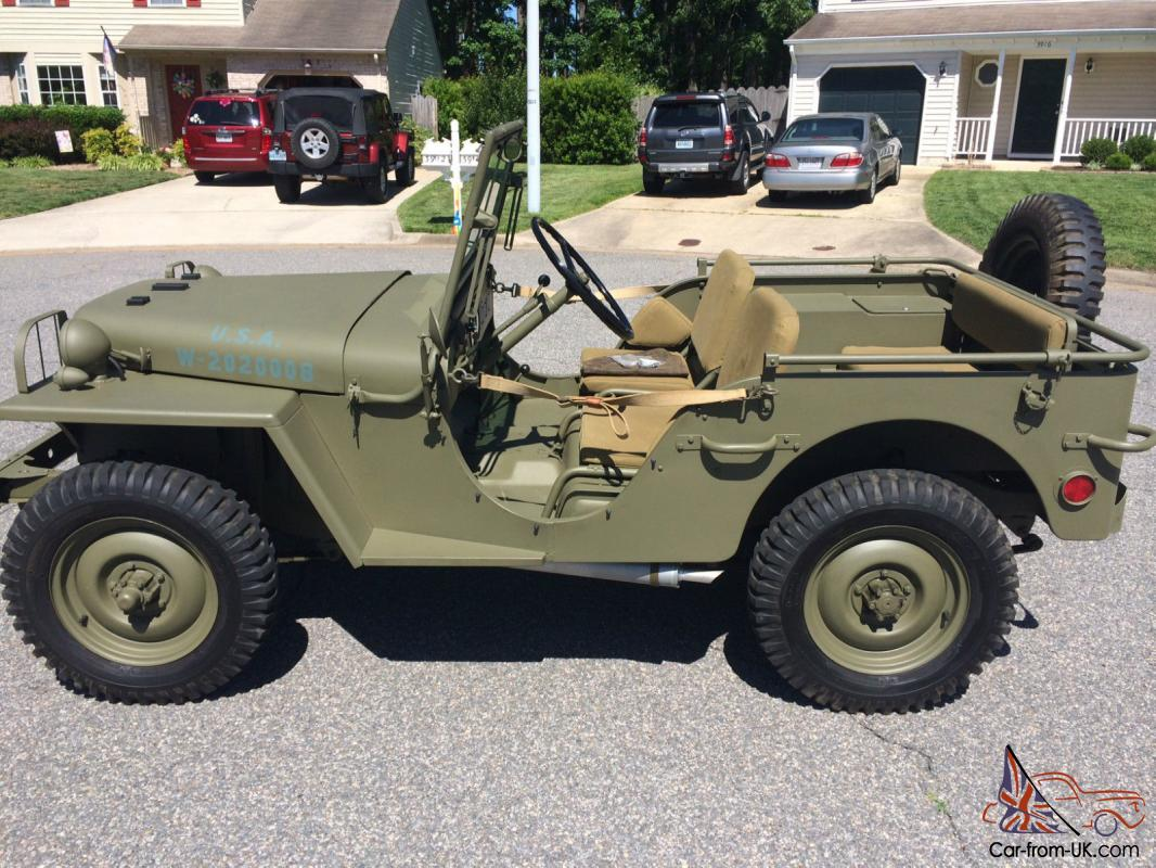 Military Jeep For Sale >> Willys Ma Ww2 Prototype Military Jeep Ma Ww2 Prototype Military Jeep
