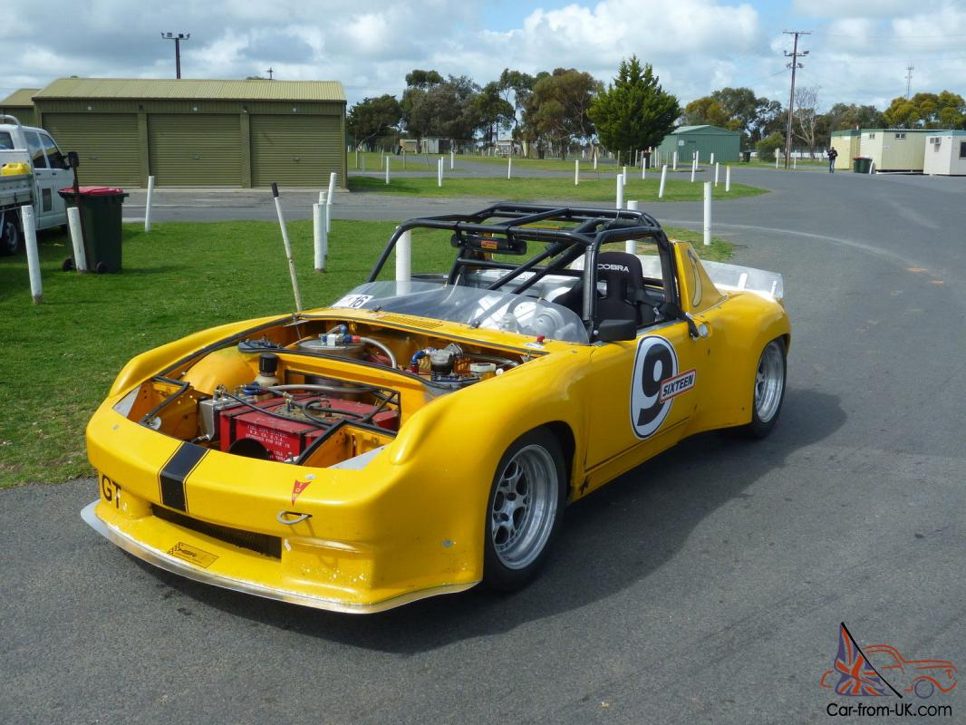 Porsche 914 6 Gt Historic Race Track Sports Car 1973