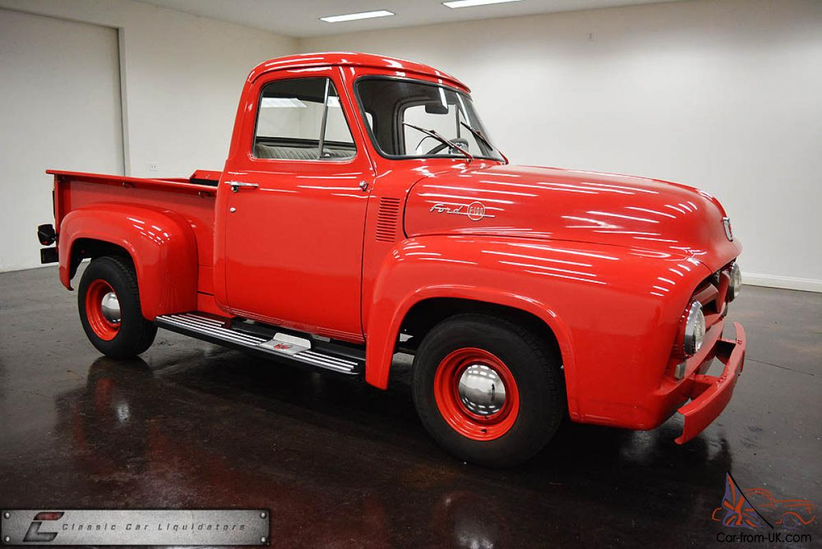 1953 1954 1956 Classic Short Bed Truck 292 312 Ford F100 Long