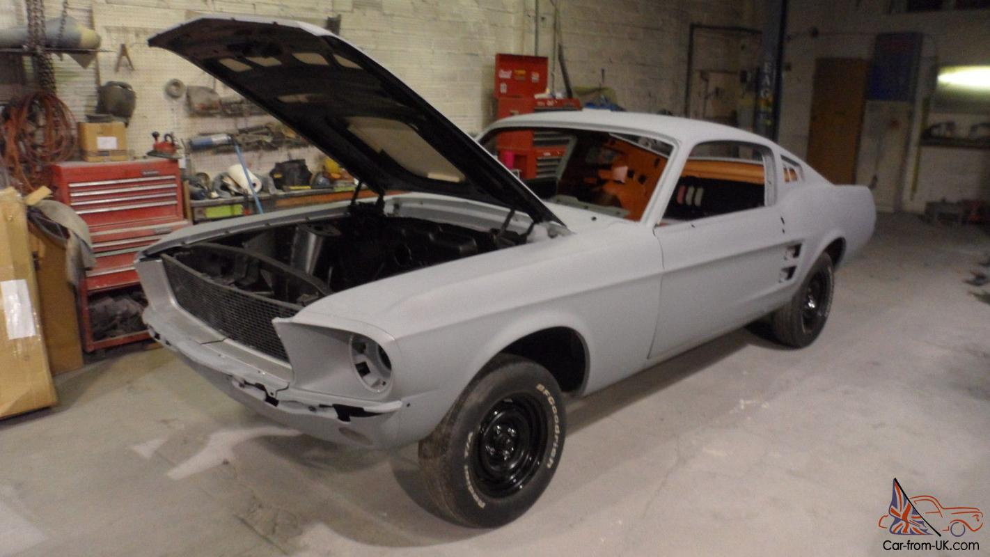 1967 1968 Ford Mustang Fastback Eleanor Clone