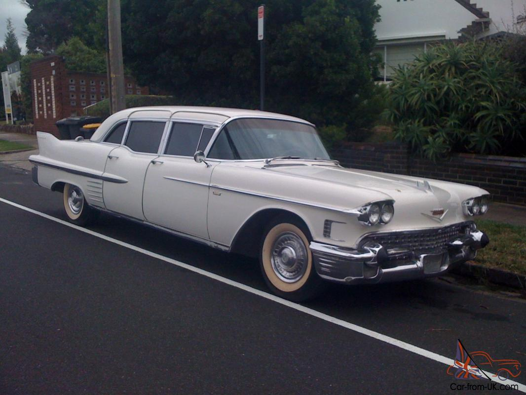 1958 Cadillac Fleetwood 75 Limo Series In Oakleigh Vic
