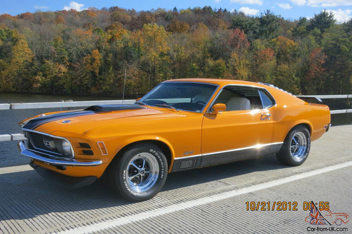 1970 ford mustang mach 1 pro touring 428