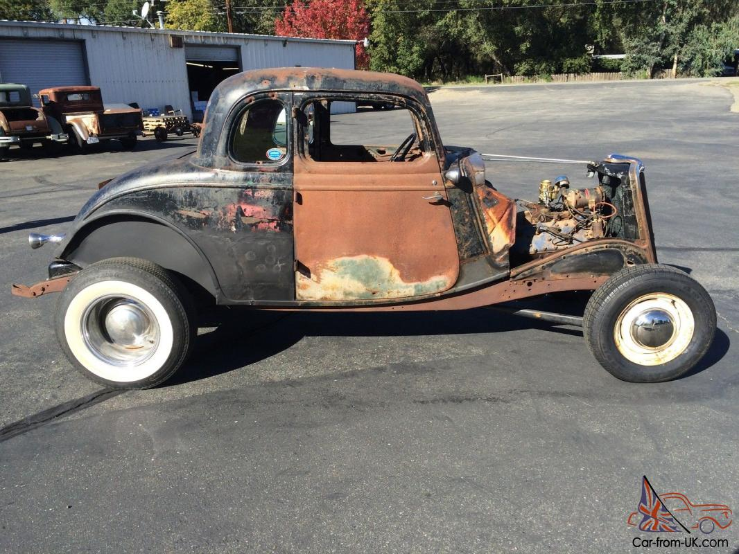 1934 ford 5 window coupe hot rod rat rod for 1934 5 window coupe for sale