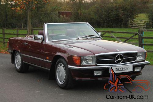 mercedes benz 300 sl mid red interior cruise control rear seats warranty. Black Bedroom Furniture Sets. Home Design Ideas