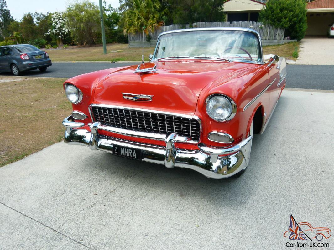 1955 chev chevy convertable cruiser original in burpengary qld. Black Bedroom Furniture Sets. Home Design Ideas