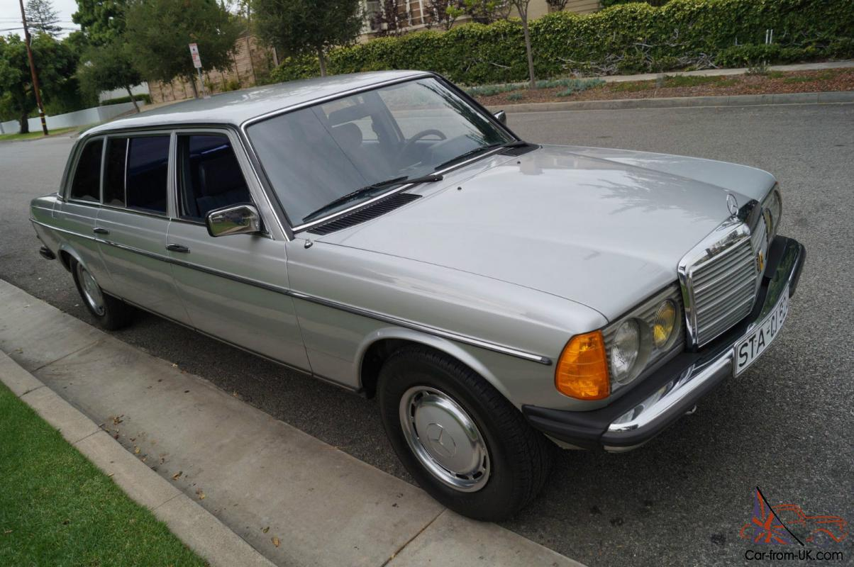 Mercedes benz 300 series rare factory built lwb diesel for Mercedes benz diesel engines for sale