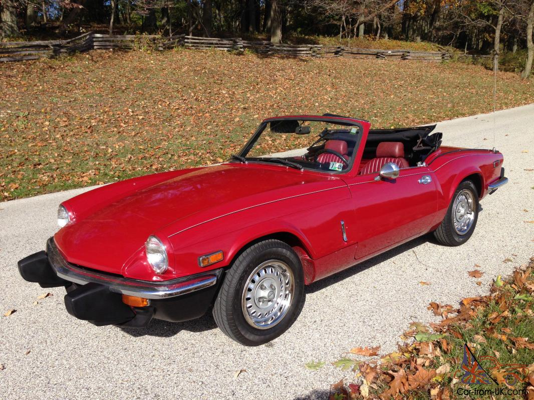 Triumph Spitfire Base Convertible 2 Door