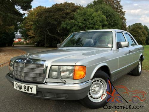 1983 mercedes benz 500se w126 automatic 52 000 miles for Mercedes benz w126 for sale