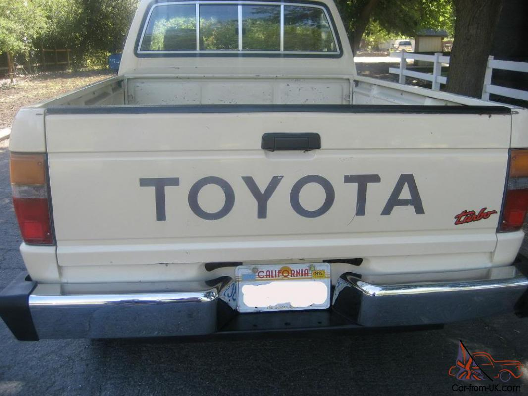 classic garage kept toyota pickup extra low miles. Black Bedroom Furniture Sets. Home Design Ideas