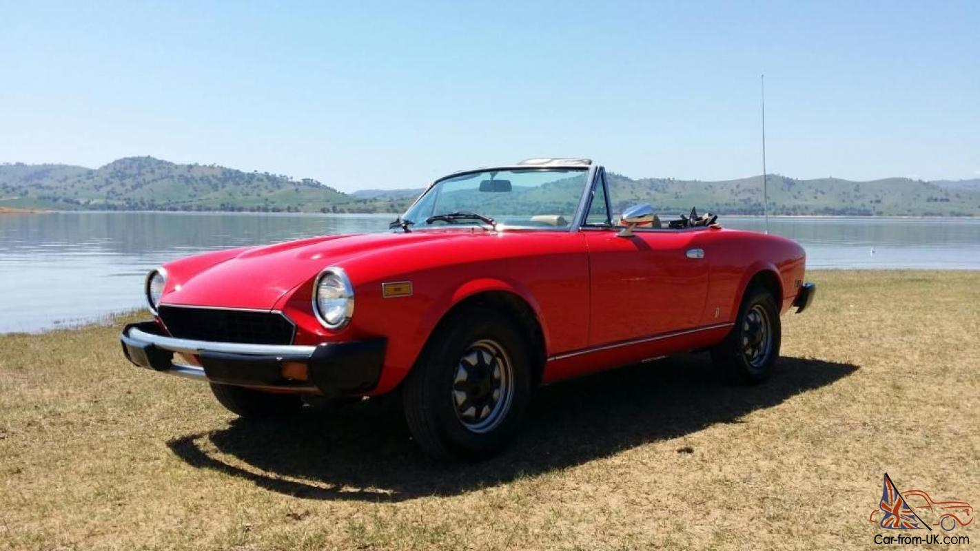 1980 fiat spider 2000 for sale
