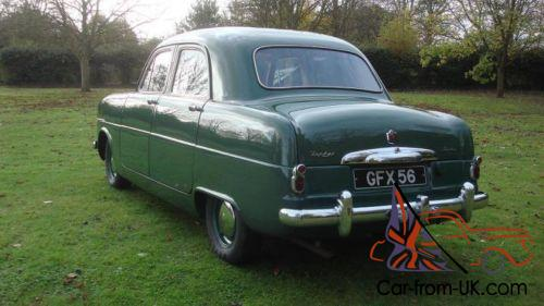 1953 Ford Zephyr Mk1 Not Ford Consul Rare Ford