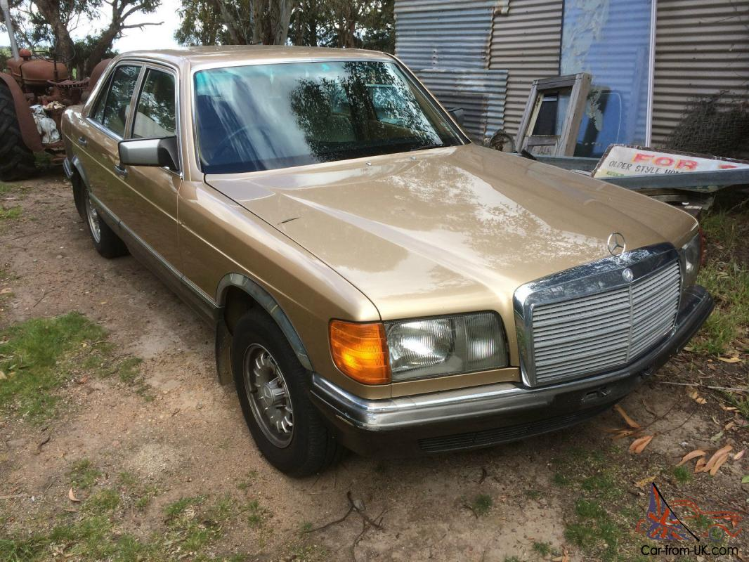 Mercedes benz 380 se sedan w126 for Mercedes benz w126 for sale