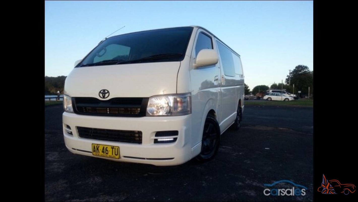 Toyota Hiace Lwb 2006 4d Van 5 Sp Manual 2 7l Multi Point