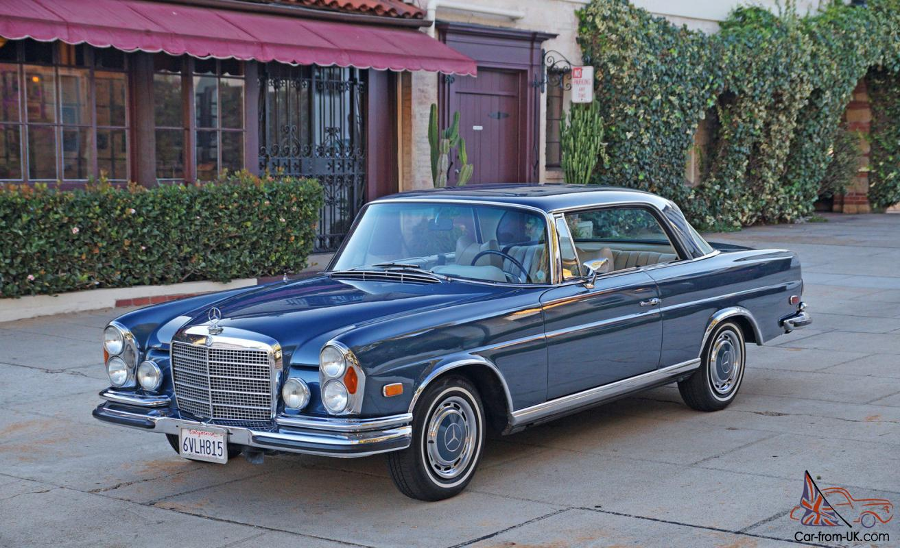 Mercedes benz 200 series 280se 3 5 coupe for Mercedes benz 3 series