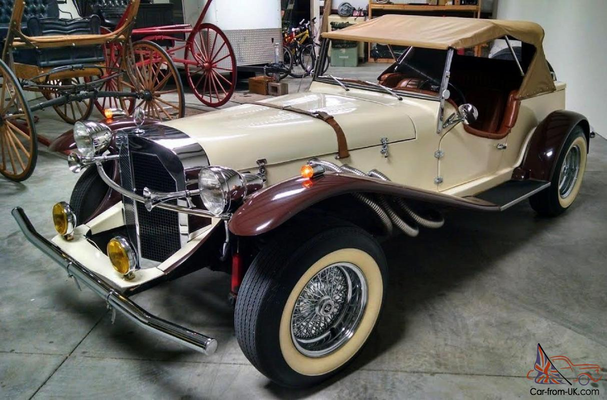 Replica kit makes mercedes benz ssk gazelle for Mercedes benz 1929 ssk