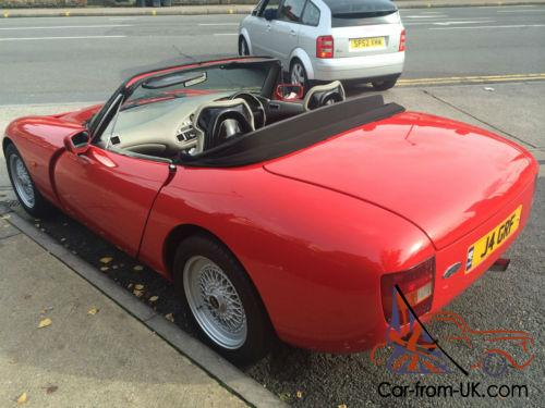 tvr griffith 4 0 pre cat car 250 bhp grf reg plate awesome history. Black Bedroom Furniture Sets. Home Design Ideas