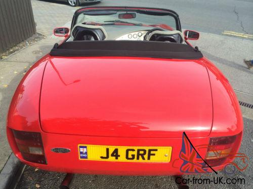tvr griffith 4 0 pre cat car 250 bhp grf reg plate awesome. Black Bedroom Furniture Sets. Home Design Ideas