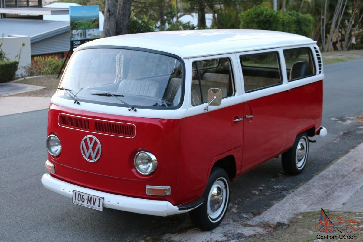 1970 volkswagen kombi transporter microbus deluxe in noosa heads qld. Black Bedroom Furniture Sets. Home Design Ideas