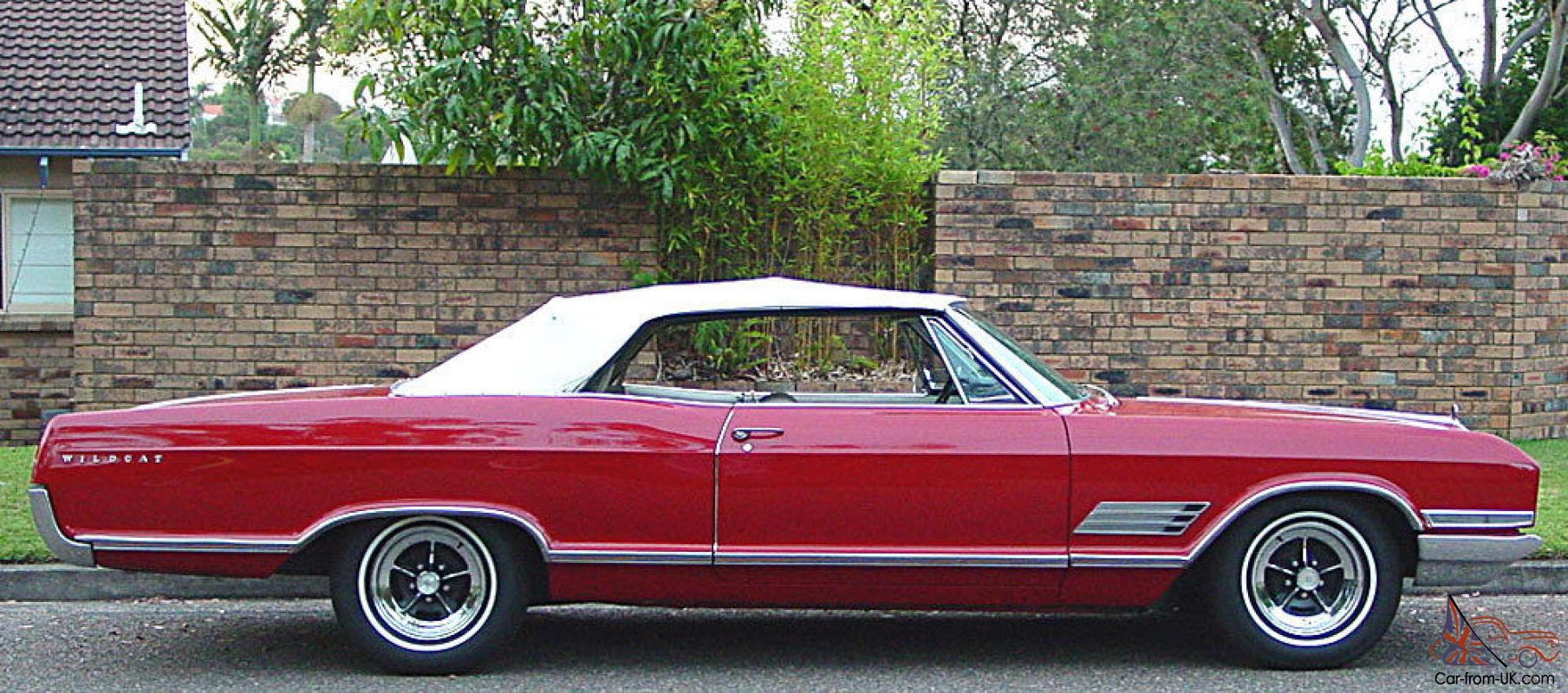 Lhd 1966 Buick Wildcat Convertible Restored Sydney Matching Numbers