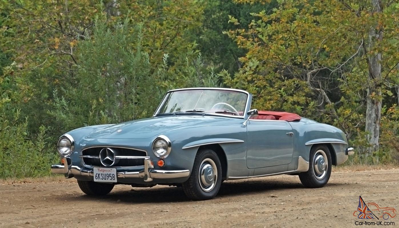 Mercedes benz 190 series 190sl for Mercedes benz 190 for sale