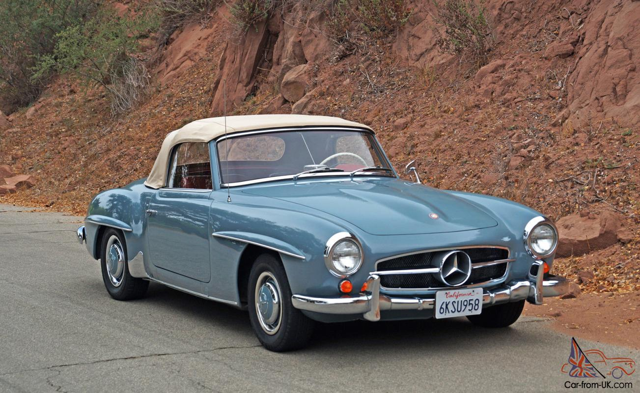 Mercedes benz 190 series 190sl for 190 mercedes benz for sale