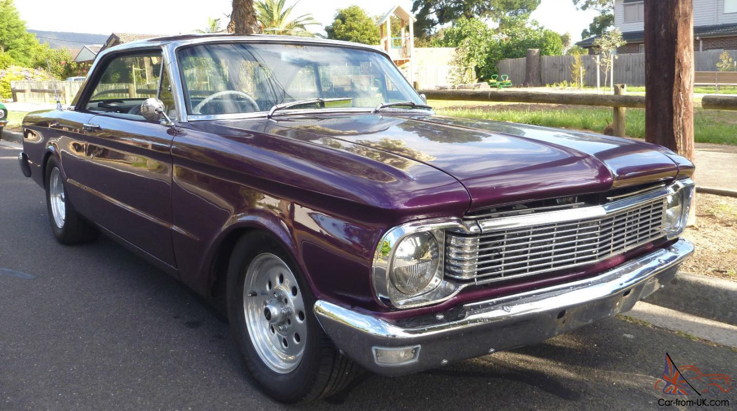 1964 Ford XM Coupe XP Front V8 Windsor TWO Door Classic Melbourne in ...