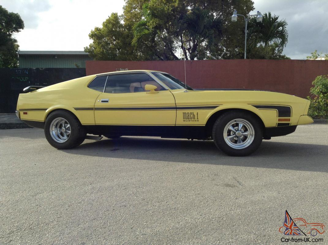 Ford mustang mach i fastback 2 door photo