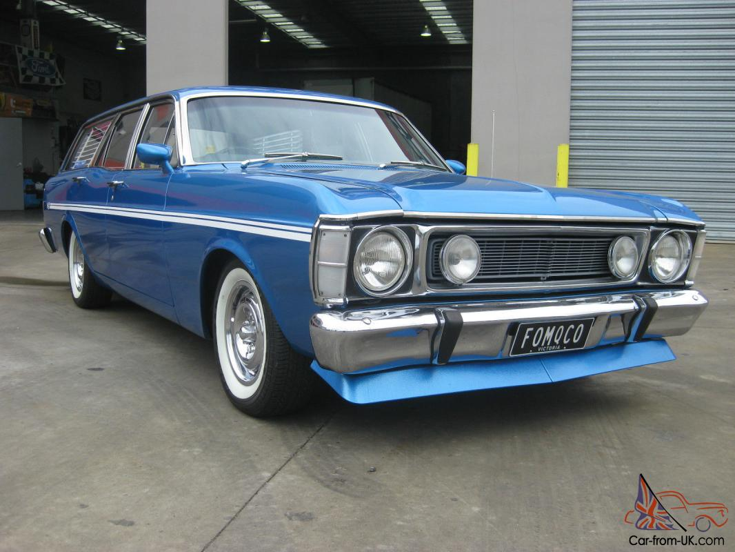 Ford Fairmont Xw 1970 Wagon