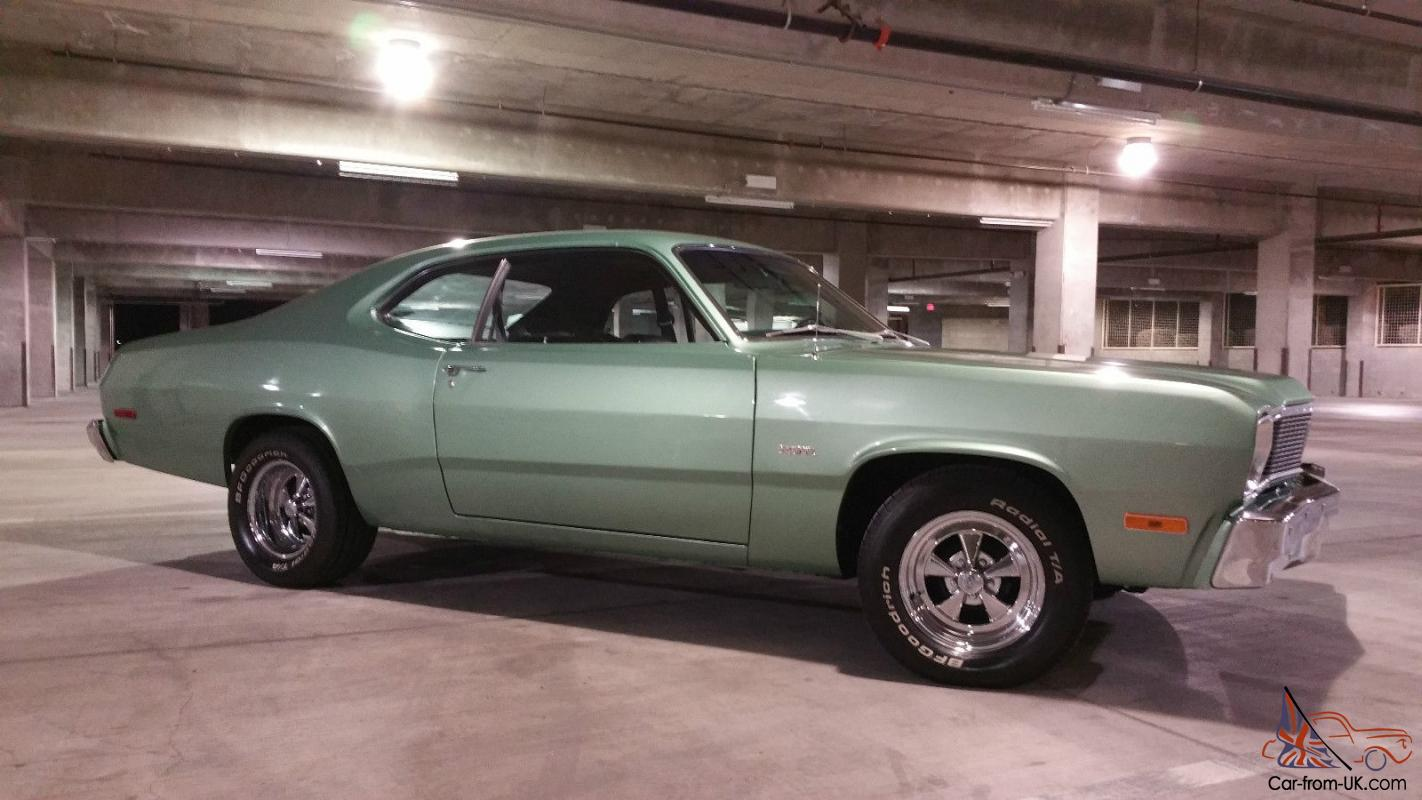 Plymouth duster base coupe 2 door