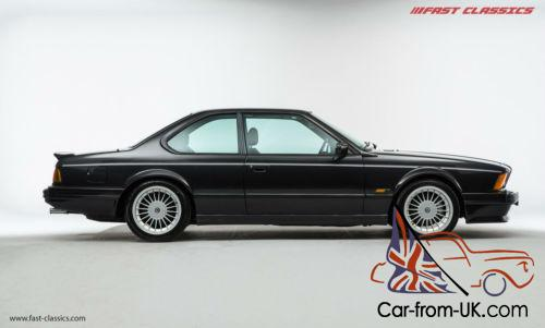 E24 M6  Diamond Black  1987