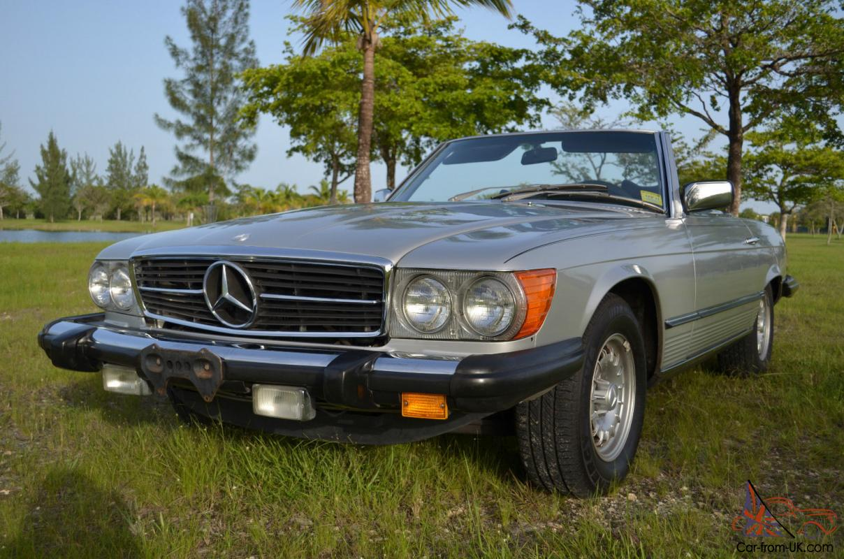 Mercedes benz sl class 450sl for Mercedes benz fixed price servicing costs