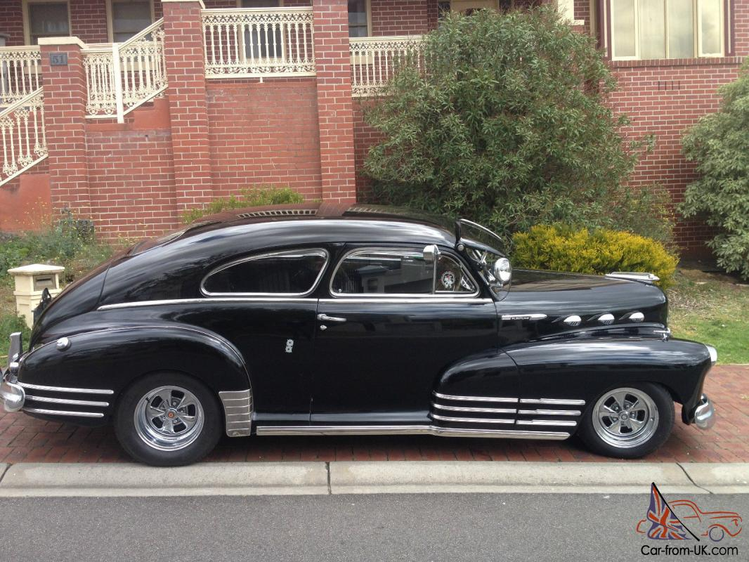 chevrolet fleetline coupe 1948 very rare in australia in avondale heights vic. Black Bedroom Furniture Sets. Home Design Ideas