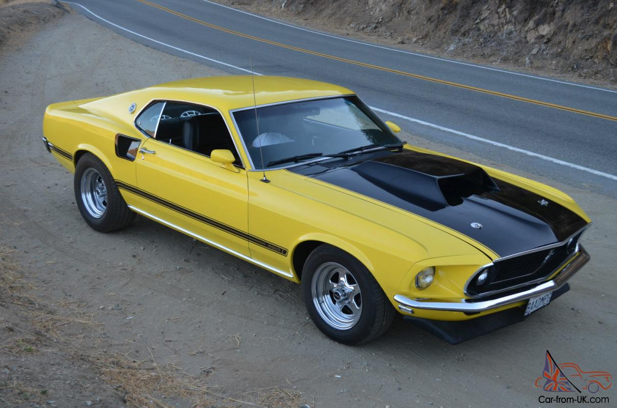 Ford Mustang Mach 1 Sportsroof