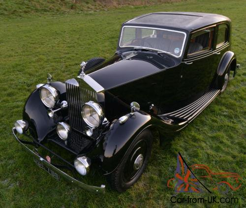 25 30 30 Helloworld: 1938 Rolls Royce 25/30 Thrupp & Maberly Sports Saloon