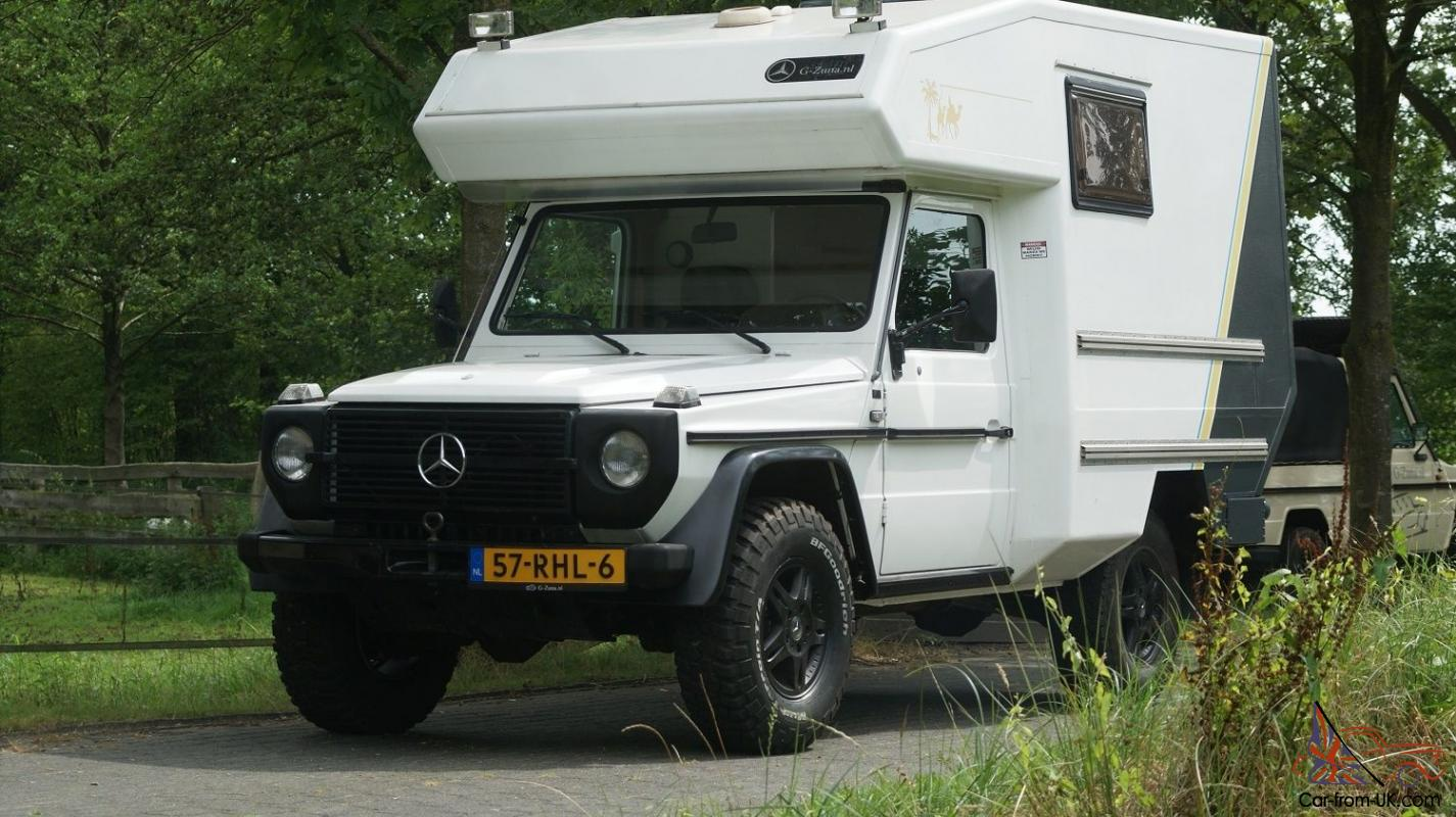 Mercedes benz g class camper for Mercedes benz camper for sale