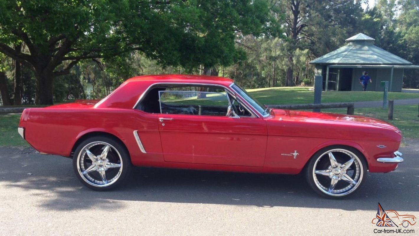 Ford mustang 1965 2d hardtop 3 sp automatic 4 7l carb seats in south penrith nsw