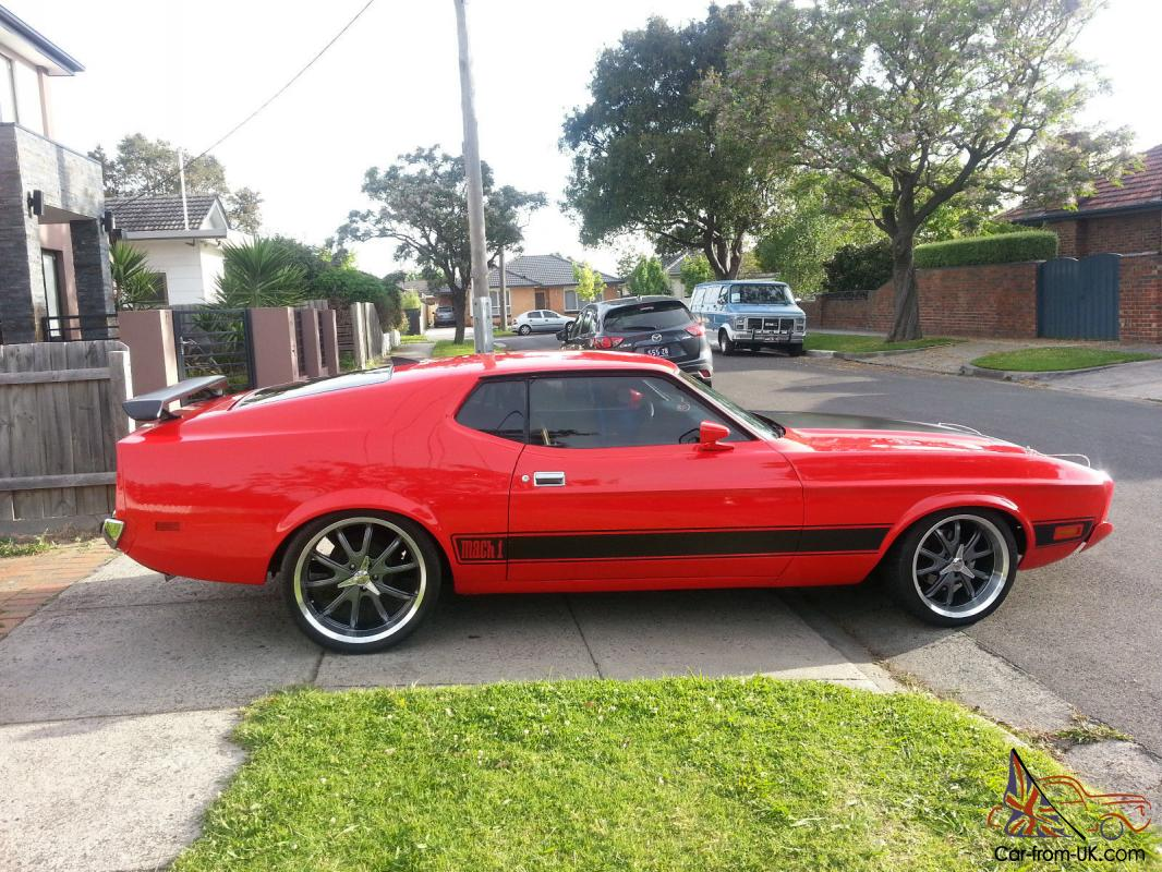 1973 ford mustang mach 1 coupe fastback sports 2 door not chevy camaro firebird in bentleigh