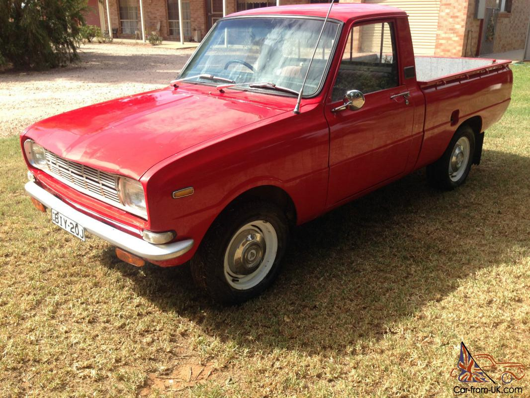 1976 Mazda 1000 Ute Nsw Rego 1600 And 5 Speed Suit Rotary