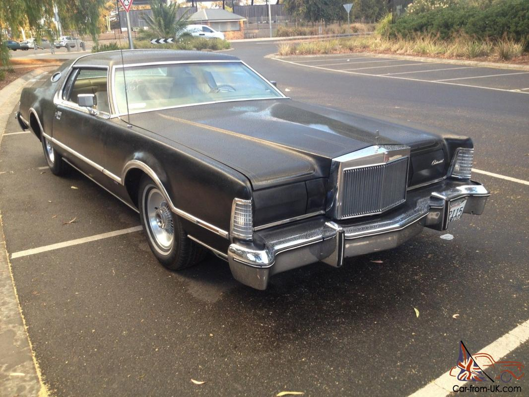 ford lincoln continental 1976 in hoppers crossing vic. Black Bedroom Furniture Sets. Home Design Ideas