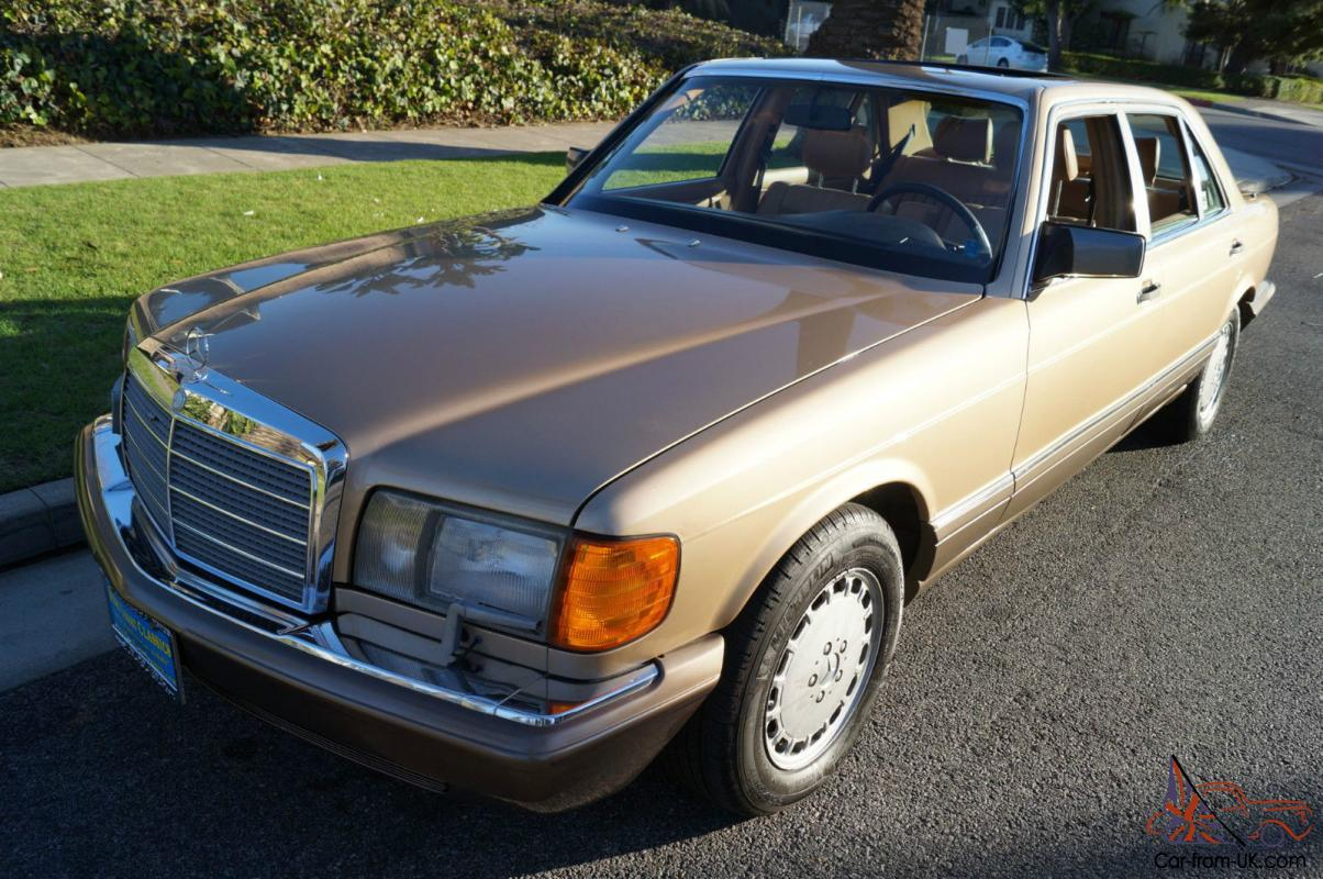 Mercedes benz s class 420 sel sedan with 63k original miles for Mercedes benz s 420