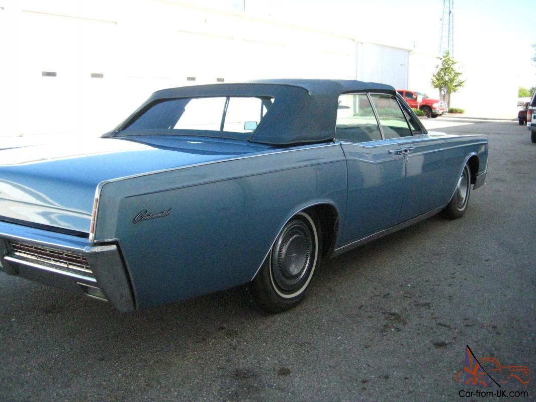 1967 lincoln continental convertible warehouse find no reserve. Black Bedroom Furniture Sets. Home Design Ideas