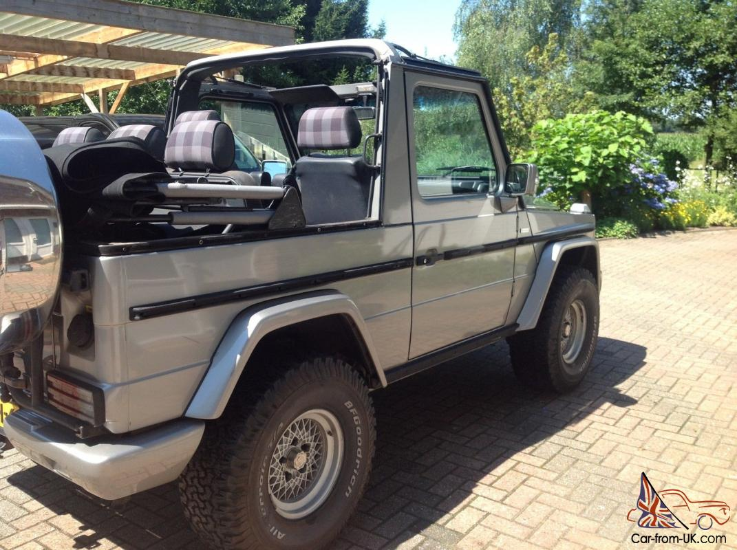 Mercedes benz g class cabriolet for Mercedes benz g300 for sale