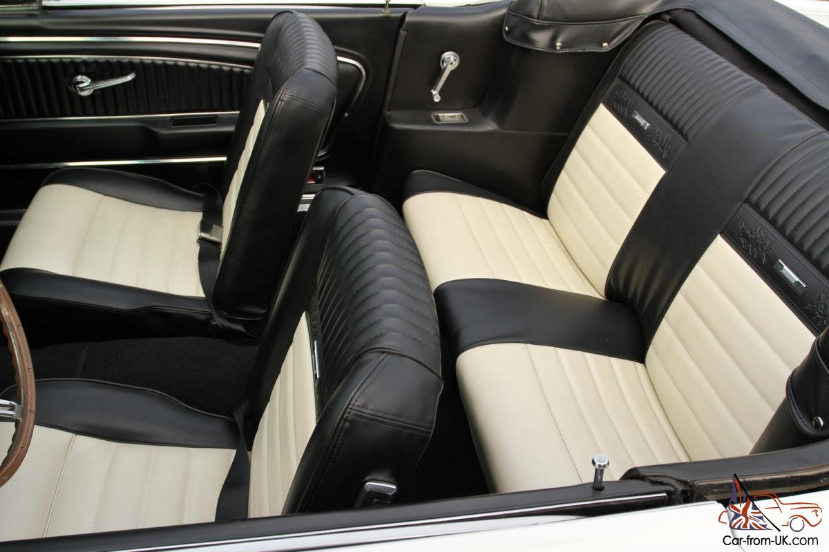 ford mustang convertible c code pony. Black Bedroom Furniture Sets. Home Design Ideas